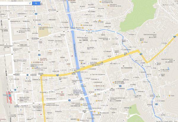 Takayama map