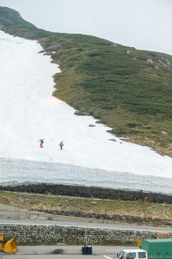 Tateyama Murodo Skiers