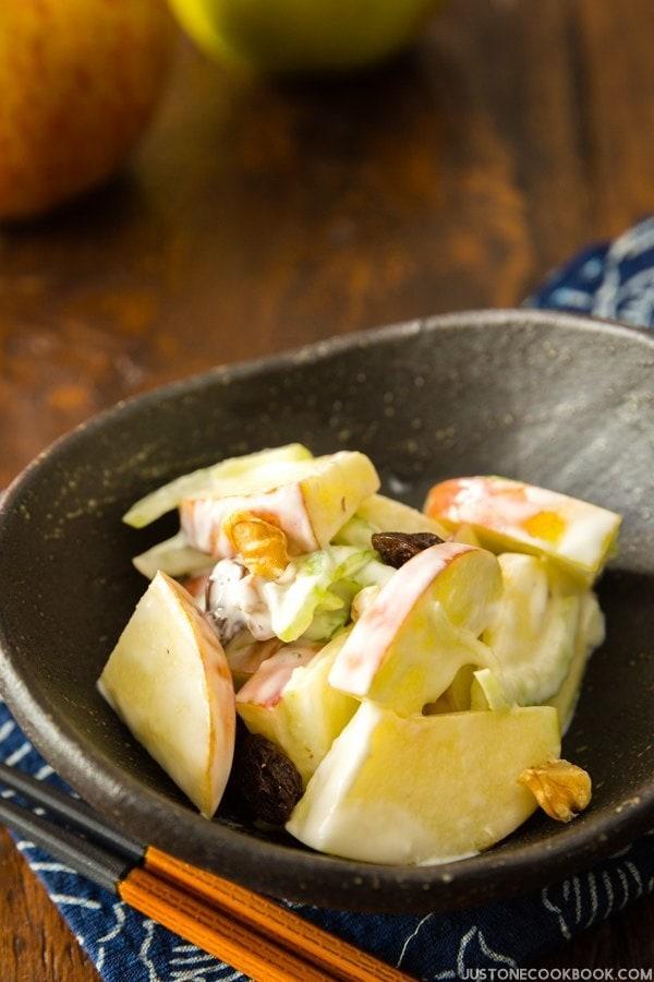 Apple Walnut Salad   JustOneCookbook.com