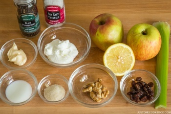 Apple Walnut Salad Ingredients