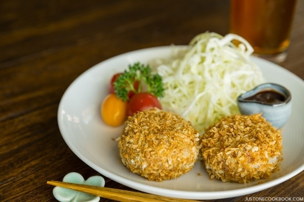 Baked Croquette   Easy Japanese Recipes at JustOneCookbook.com