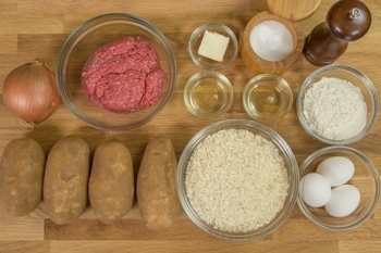 Baked Korokke Ingredients