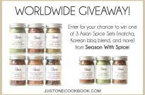 Spice Up Your Meals & Worldwide Giveaway! (Closed)