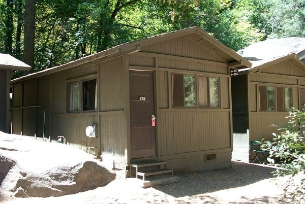 Yosemite national park hotels and food just one cookbook for Curry village cabins yosemite