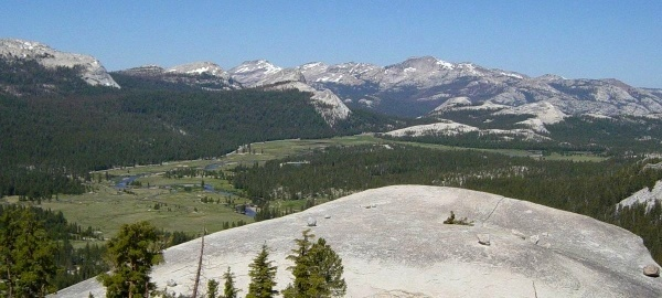 Tuolumne Meadows from Lambert Dome