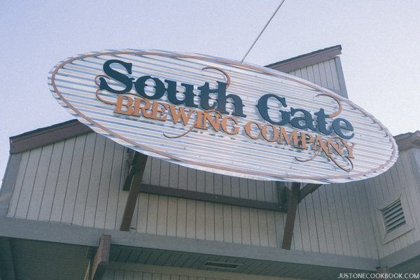 South Gate Brewing Company | JustOneCookbook.com