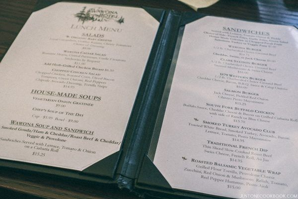 Wawona Hotel Dining Room   just One Cookbook