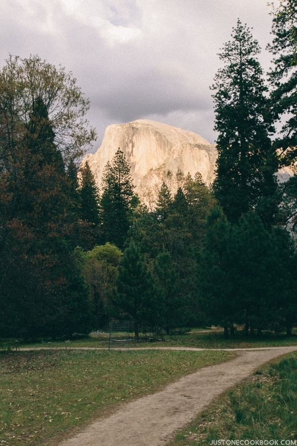 Yosemite Half Dome | JustOneCookbook.com