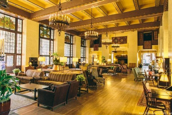 The Ahawahnee Hotel The Great Lounge   JustOneCookbook.com