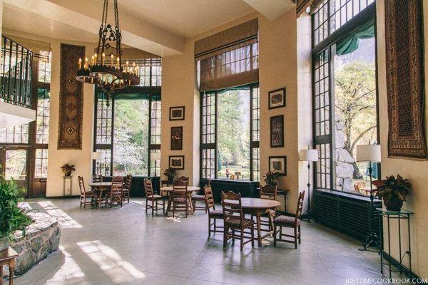 The Ahawahnee Hotel Solarium | JustOneCookbook.com