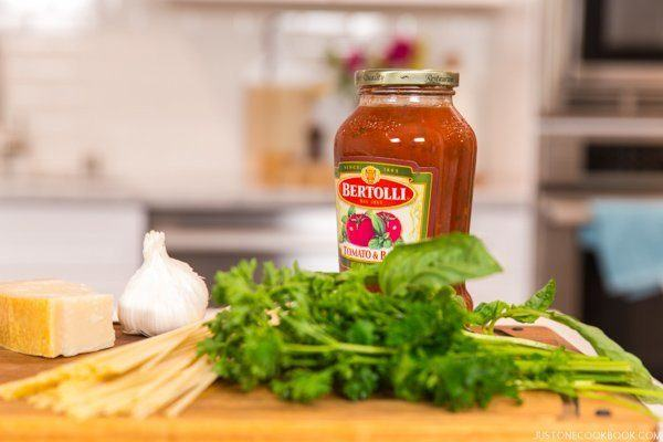 Bertolli Pasta Sauce | Just One Cookbook