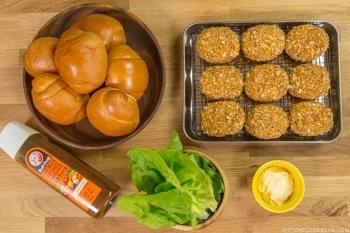 Croquette Sandwich Ingredients