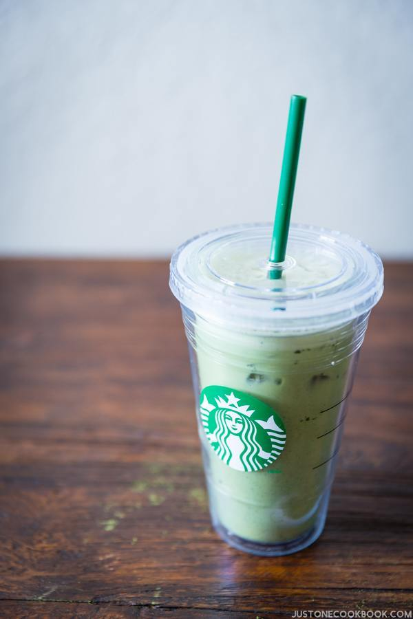 Iced Green Tea Latte | Easy Japanese Recipes at JustOneCookbook.com