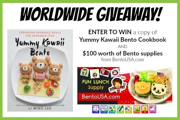 Yummy Kawaii Bento Giveaway