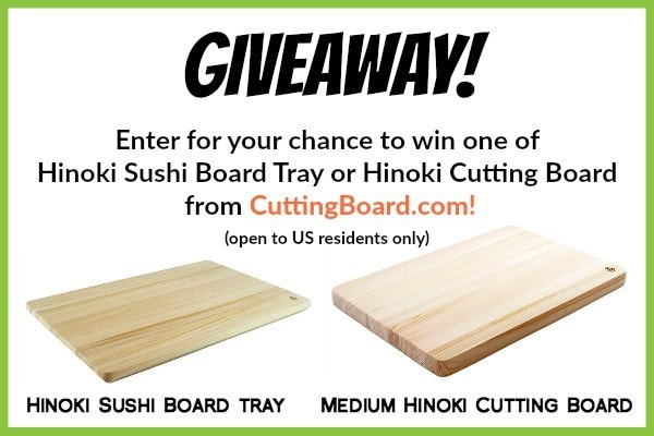 Hinoki Giveaway at JustOneCookbook.com