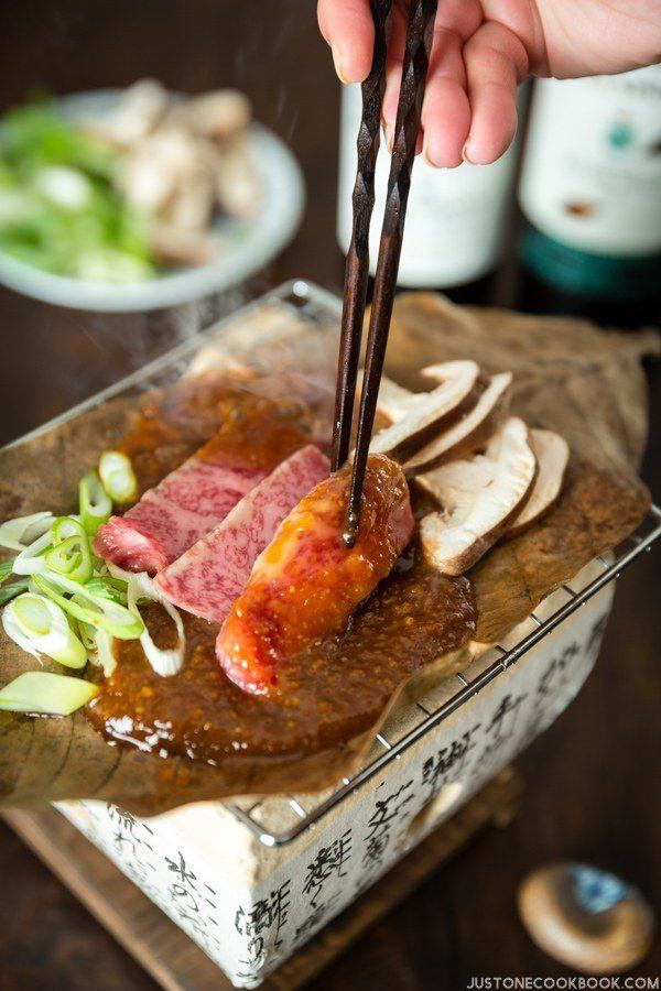 Hoba Miso with Beef | Easy Japanese Recipes at JustOneCookbook