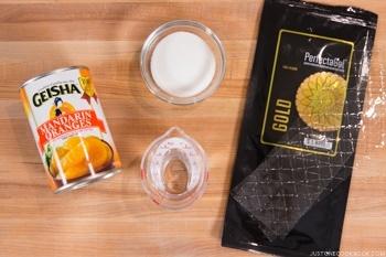 Orange Jelly Ingredients
