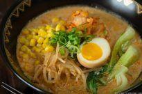 Vegetarian Ramen 豆乳味噌ラーメン