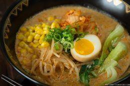 Vegetarian Ramen - Spicy Soy Milk Ramen | Easy Japanese Recipes at JustOneCookbook.com