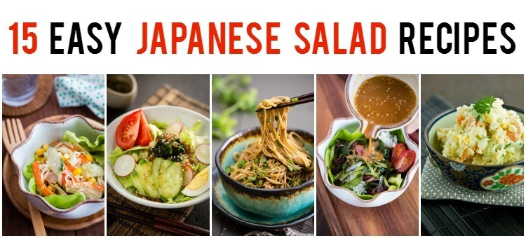 15 Easy Japanese Salad Recipes Just One Cookbook : 15 Easy Japanese Salad Recipes 2 from www.justonecookbook.com size 750 x 340 jpeg 86kB