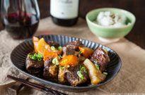 Pressure Cooker Short Ribs 牛バラ肉と大根煮(圧力鍋)