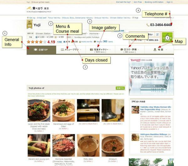 Tabelog List View | Just One Cookbook