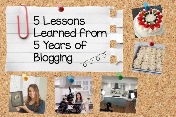 5 Lessons Learned from 5 Years of Blogging | JustOneCookbook.com