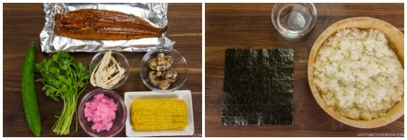 Futomaki Ingredients