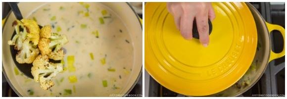 Creamy Roasted Cauliflower Soup 13