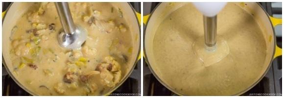 Creamy Roasted Cauliflower Soup 14