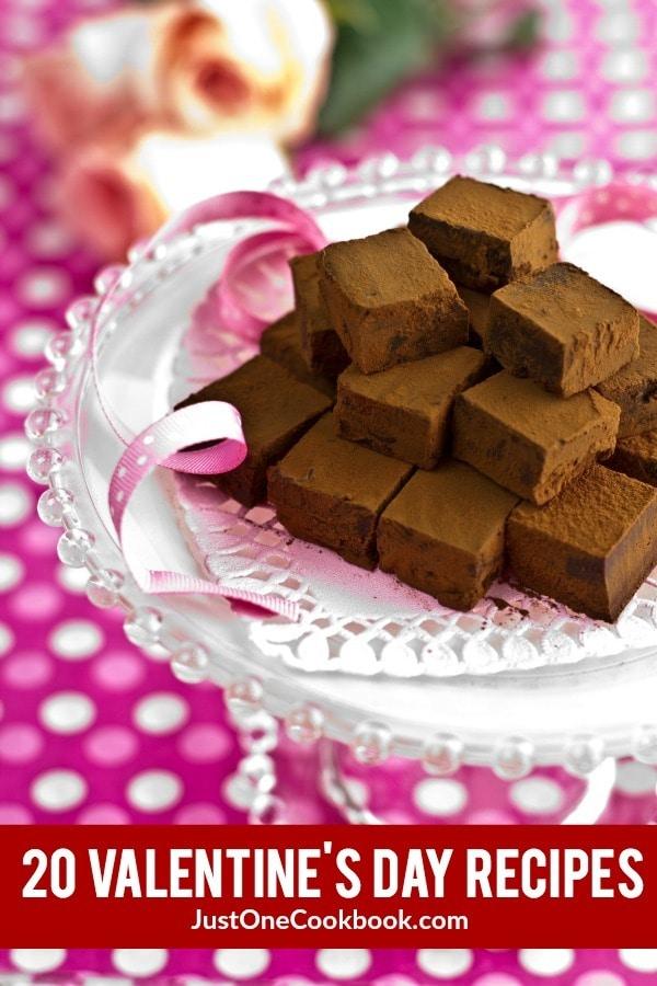 20 Valentine's Day Recipes | JustOneCookbook.com