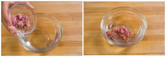 Cherry Blossom Milk Pudding 1