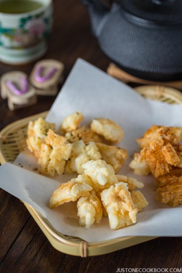 Homemade Rice Cracker Recipe (Kakimochi かき餅) | Easy Japanese Recipes at JustOneCookbook.com