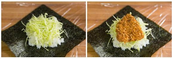 Chicken Katsu Onigirazu 4