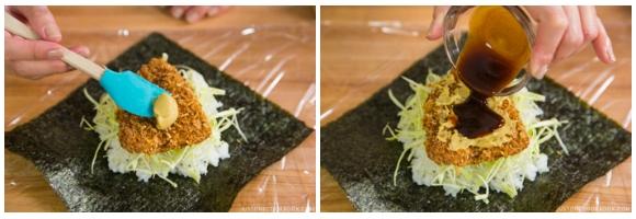 Chicken Katsu Onigirazu 5