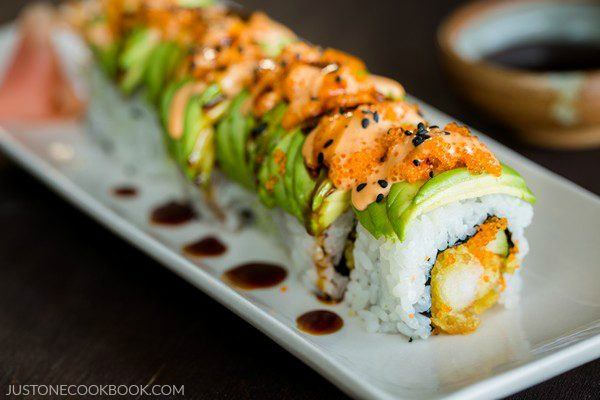Dragon Roll | Easy Japanese Recipes at JustOneCookbook.com