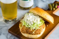 Ebi Katsu Burger (Baked Panko Crusted Shrimp Burger) | Easy Japanese Recipes at JustOneCookbook.com