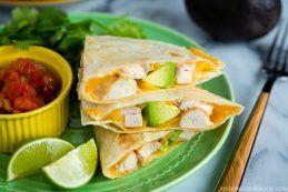 Teriyaki Chicken Quesadilla | Easy Japanese Recipes at JustOneCookbook.com