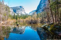 Skiing and Mirror Lake – Yosemite