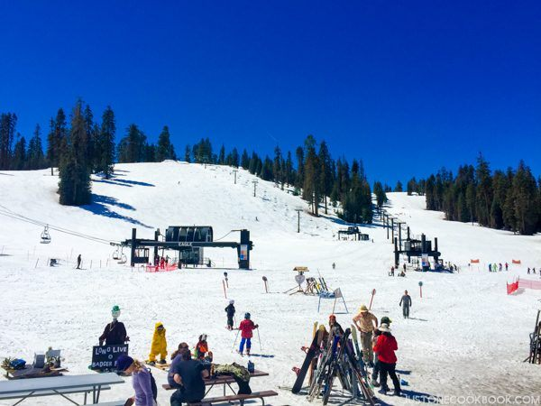 Yosemite ski and snowboard area | Justonecookbook.com