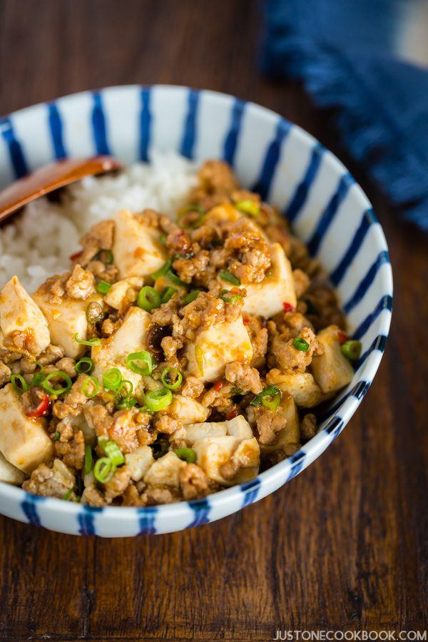 Mapo Tofu (Mabo Dofu 麻婆豆腐) | Easy Japanese Recipes at JustOneCookbook.com