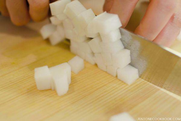 Sainomegiri | Japanese Cutting Technique | Easy Japanese Recipes at JustOneCookbook.com