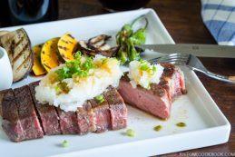 Sous Vide Steak - Japanese Style (Wafu Steak) | Easy Japanese Recipes at JustOneCookbook.com