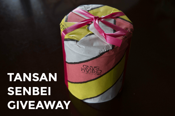 Tansan Senbi Worldwide Giveaway