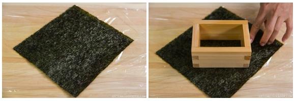 Teriyaki Salmon Onigirazu 1