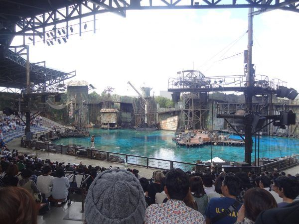 Waterworld Show Universal Studios Japan