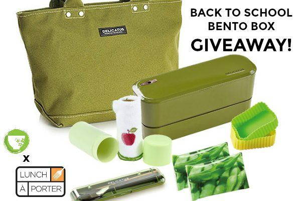 Back to School Bento Giveaway