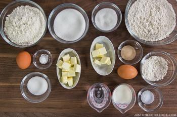 Melon Pan Ingredients