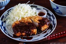 Miso Katsu (Tonkatsu with Miso Sauce) 味噌カツ | Easy Japanese Recipes at JustOneCookbook.com
