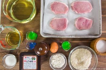 miso-katsu-ingredients